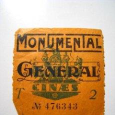 Tauromaquia: ENTRADA PLAZA DE TOROS MONUMENTAL - BARCELONA 1932. Lote 15968691