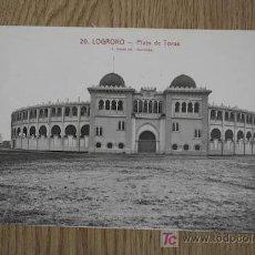 Tauromaquia: POSTAL DE TEMA TAURINO. LOGROÑO. PLAZA DE TOROS. BARCELONA.. Lote 26079578