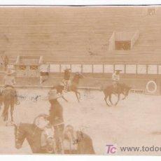 Tauromaquia: FOTOGRAFÍA 7,5X13. CHARROS O VAQUEROS EN LA PLAZA DE TOROS DE MÉJICO.. Lote 16805157