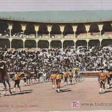 Tauromaquia: TARJETA POSTAL. CORRIDA DE TOROS.EL PASEO. SERIE LEÓN Nº 26.. Lote 16810239