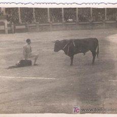 Tauromaquia: FOTOGRAFÍA 8,5X12. ANTONIO ORDOÑEZ. AL DORSO: RONDA.FERIA DE MAYO 1950. UN ADORNO DE A.ORDOÑEZ.. Lote 16844435