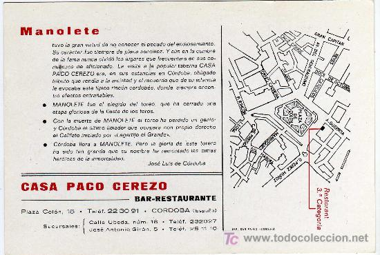 Tauromaquia: REVERSO DE LA POSTAL - Foto 2 - 22074710