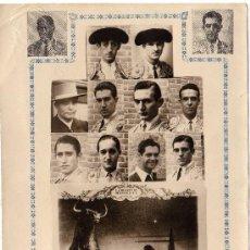 Tauromaquia: EXTRAORDINARIO - RECUERDO DE LA CORRIDA PROMONUMENTO A MANOLETE (TORERO) - 21 DE OCTUBRE 1951 . Lote 22287244