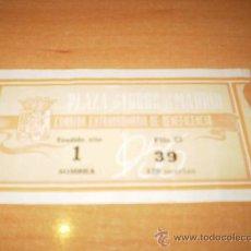 Tauromaquia: ENTRADA DE TOROS DE LA BENEFICENCIA DE MADRID 1956. Lote 18297392