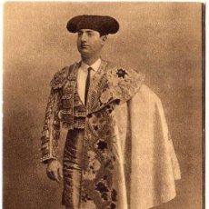 Tauromaquia: BONITA POSTAL DE MANUEL RODRIGUES SANCHEZ - PADRE DE MANOLETE (TORERO) - CURRO MELOJA-1944. Lote 22287250