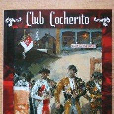 Tauromaquia: CLUB COCHERITO. BILBAO, AGOSTO 2008.. Lote 19239092