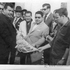 Tauromaquia: FOTOGRAFIA ORIGINAL DE ANGEL MARTIN AL EMPRESARIO JOSE BELMONTE.. Lote 19425970
