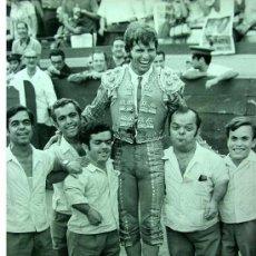 Tauromaquia: RARA Y MARAVILLOSA FOTOGRAFIA ORIGINAL, TORERO, MANUEL BENITEZ, EL CORDOBES, MEDIDAS: 23 X 17. Lote 19609934