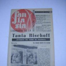 Tauromaquia: REVISTA FANTASIA.SEMANARIO DE LA INVENCIÓN LITERARIA Nº 20 1945 .GIMENEZ CABALLERO:DON QUIJOTE .... Lote 22501134
