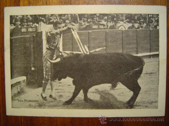 Tauromaquia: TARJETA PUBLICITARIA DE BRANDY ARRUZA con motivos taurinos - Foto 2 - 27183799