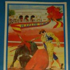 Tauromaquia: CARTEL DE TOROS. PLAZA DE TOROS DE DAIMIEL. MANOLO CORTES, CURRO VAZQUEZ, SANCHEZ PUERTO.... Lote 21245258
