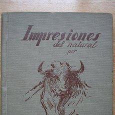 Tauromaquia: IMPRESIONES DEL NATURAL. PRÓLOGO EN ESPAÑOL, FRANCÉS E INGLÉS POR G. CORROCHANO. RUANO LLOPIS (C.). Lote 27235770