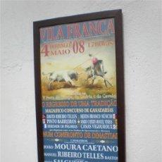 Tauromaquia: CARTEL DE TOROS ENMARCADOS. Lote 22003099