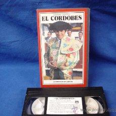 Tauromaquia: EL CORDOBES - MANUEL BENITEZ - LA DÉCADA DE LOS 60- FORMATO VHS. Lote 23408401