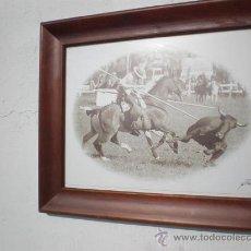 Tauromaquia: CUADRO TAUROMAQUIA REJONEO. Lote 23707397
