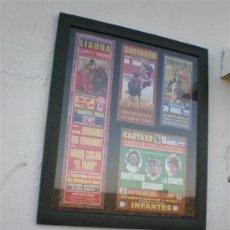 Tauromaquia: ENTRADAS Y FOLLETOS DE TOROS. Lote 24460656