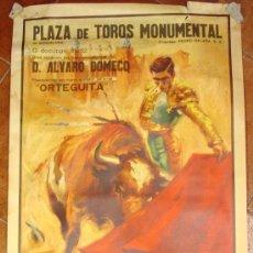 Tauromaquia: MONUMENTAL BARCELONA. DAMASO GOMEZ, ORTEGUITA, ALVARO DOMECQ...AÑO 1961.. Lote 27418752