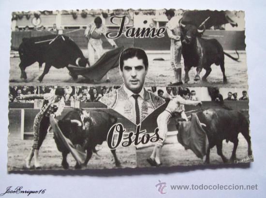 JAIME OSTOS, TORERO. CORRIDA DE TOROS. CHAPRESTO N° 182 (Coleccionismo - Tauromaquia)