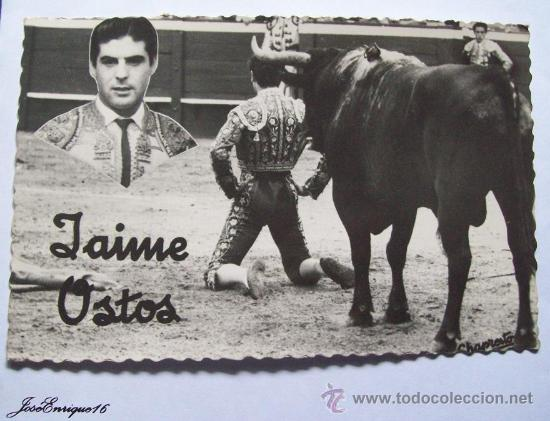 JAIME OSTOS, TORERO. CORRIDA DE TOROS. CHAPRESTO N° 191 (Coleccionismo - Tauromaquia)