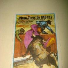 Tauromaquia: PROGRAMA ACONTECIMIENTO TAURINO EN JULIO DE 1979 PLAZA DE TOROS DE ONDARA JOYA LEVANTINA .. Lote 26115833