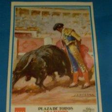 Tauromaquia: CARTEL DE TOROS. PLAZA DE MADRID. SEBASTIAN CASTELLA, SERGIO AGUILAR Y ALBERTO ALVAREZ. AÑO 2000.. Lote 26385025
