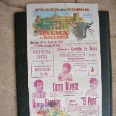 Tauromaquia: CARTEL DE TOROS PALMA MALLORCA 1971 - DAMASO GONZALEZ - CURRO RIVERA - EL PUNO JAIME GONZALEZ. Lote 27251569