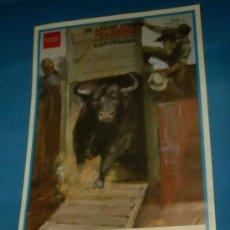 Tauromaquia: CARTEL DE TOROS. PLAZA DE MADRID. LUIS VILCHES, TOMAS LOPEZ Y ANTONIO BRICIO. AÑO 2000.. Lote 27490924