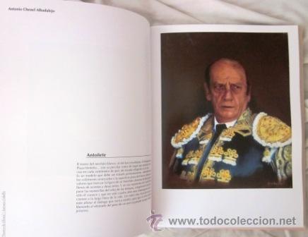 Tauromaquia: RETRATOS DEL UNIVERSO TAURINO, ANTONIO CABELLO - SUEÑOS DE GLORIA - (Incuye DVD) IMPECABLE - Foto 2 - 27790160