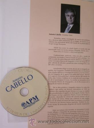 Tauromaquia: RETRATOS DEL UNIVERSO TAURINO, ANTONIO CABELLO - SUEÑOS DE GLORIA - (Incuye DVD) IMPECABLE - Foto 4 - 27790160
