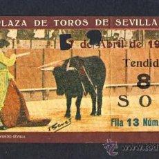 Tauromaquia: ENTRADA A LA PLAZA DE TOROS DE SEVILLA DE 1966. Lote 28022335