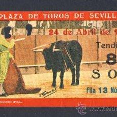 Tauromaquia: ENTRADA A LA PLAZA DE TOROS DE SEVILLA DE 1966. Lote 28022341