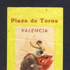 Tauromaquia: ENTRADA A LA PLAZA DE TOROS DE VALENCIA DE 1965. Lote 28022399