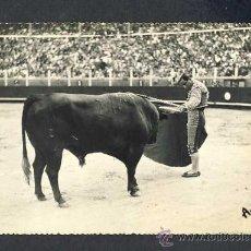 Tauromaquia: POSTAL DE TOROS: VICENTE BARRERA: UN ADORNO (ED.ANDRE OCANA NUM.20). Lote 28523758