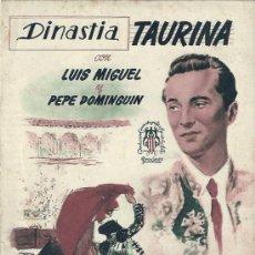 Tauromaquia: DINASTIA TAURINA - LUIS MIGUEL Y PEPE DOMINGUIN 1952. Lote 29008631