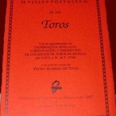 Tauromaquia: 25 VIEJAS POSTALES DE TOROS - COMISARIA CIUDAD DE SEVILLA (1992) - AYUNTAMIENTO DE SEVILLA. Lote 33773121