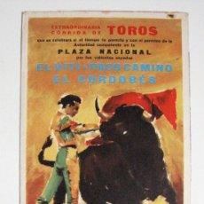 Tauromaquia: TAUROMAQUIA CORRIDA TOROS PERFUMES DANA FOLLETO PUBLICITARIO DESPLEGABLE EN 3 IDIOMAS AÑO 1964. Lote 29513632