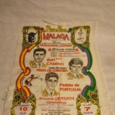 Tauromaquia: PAÑUELO DE TOROS - MÁLAGA JULIO 1994 - RAFI CAMINO - FINITO DE CÓRDOBA - PEDRITO DE PORTUGAL. Lote 31619530