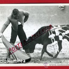 Tauromaquia: POSTAL TEMA TOROS, CORRIDA DE TOROS, IGNACIO RAMIREZ, P66506. Lote 30066753