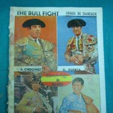 Tauromaquia: LIBROS ESTROPEADO CON HUMEDADES. THE BULLFIGHT. PLAZA DE TOROS DE MADRID. Lote 30445054