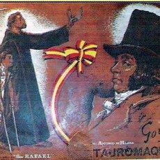 Tauromaquia: TAUROMAQUIA DE GOYA.- EDICION SUPER-ESPECIAL NUMERADA DE 40 LÁMINAS EN 1970 DE LUJO.. Lote 31199529