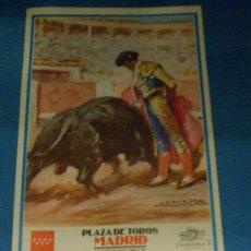 Tauromaquia: CARTEL DE TOROS. PLAZA DE LAS VENTAS. SEBASTIAN CASTELLA, SERGIO AGUILAR Y ALBERTO ALVAREZ. AÑO 2000. Lote 31364755