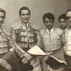 Tauromaquia: TOROS. TORERO: MARCOS ORTEGA Y OTROS. 13X18 CM. CA. 1960. FOT: FOTOS SEBASTIAN. Lote 31666144