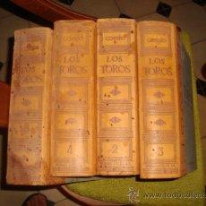 Tauromaquia: LOS TOROS TRATADO TECNICO E HISTORICO, ESPASA CALPE S.A J MARIA COSSIO AÑOS 1974, 69, 69 Y 71. Lote 122903586