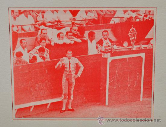 Tauromaquia: DE TOROS DE MUERTO, JUEGO Y RITO. ANTONIO ORDOÑEZ. EDICIÓN DE LUJO. Nº 70 DE 100 EJEMPLARES - Foto 5 - 32300605