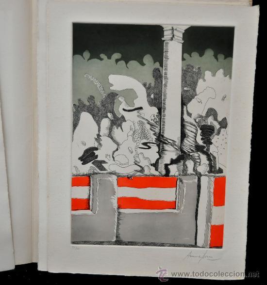 Tauromaquia: DE TOROS DE MUERTO, JUEGO Y RITO. ANTONIO ORDOÑEZ. EDICIÓN DE LUJO. Nº 70 DE 100 EJEMPLARES - Foto 70 - 32300605