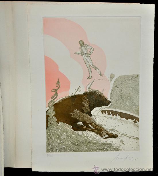 Tauromaquia: DE TOROS DE MUERTO, JUEGO Y RITO. ANTONIO ORDOÑEZ. EDICIÓN DE LUJO. Nº 70 DE 100 EJEMPLARES - Foto 30 - 32300605
