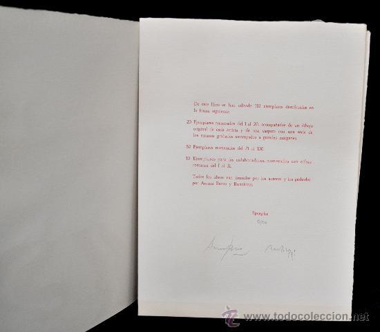 Tauromaquia: DE TOROS DE MUERTO, JUEGO Y RITO. ANTONIO ORDOÑEZ. EDICIÓN DE LUJO. Nº 70 DE 100 EJEMPLARES - Foto 29 - 32300605