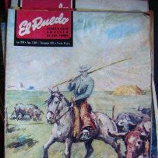 Tauromachie: EL RUEDO, DON LIVINO, TOROS EN AMERICA, Nº 1380, 1 DICIEMBRE 1970. TOROS.. Lote 32982204
