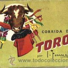 Tauromaquia: 20 POSTALES ILUSTRADAS POR TORRUELLA (10) Y FREIXAS (10) EN DOS ESTUCHES DESPLEGABLES .. Lote 42300594
