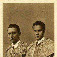 Tauromaquia: POSTAL TOREROS DOMINGO Y JOSE GONZALEZ LUCAS DOMINGUIN. Lote 33810870